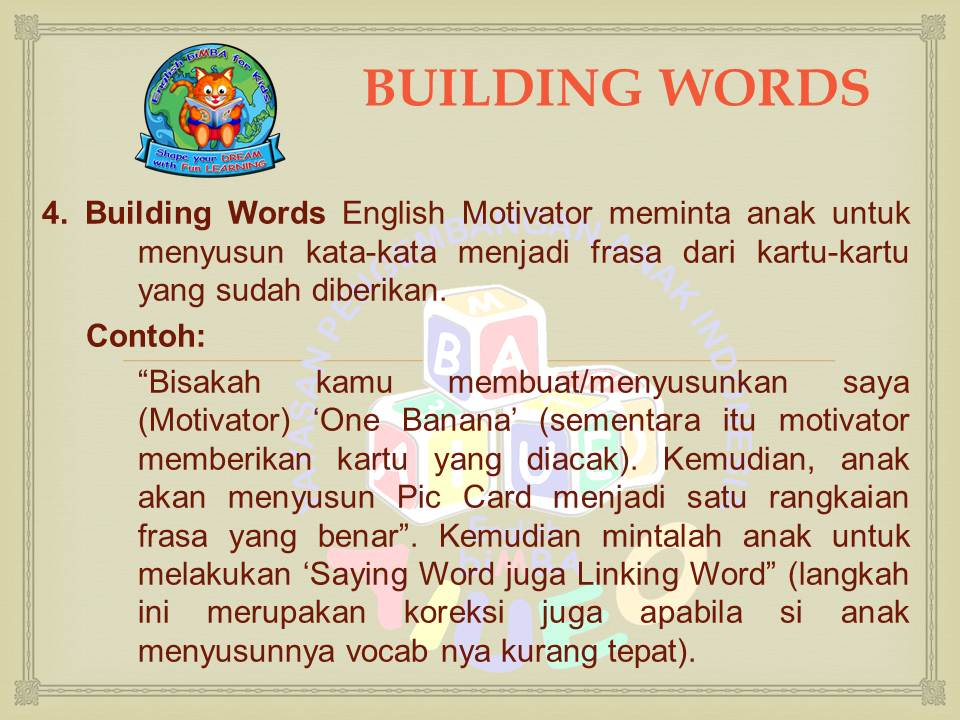 Curriculum Archives English Bimba