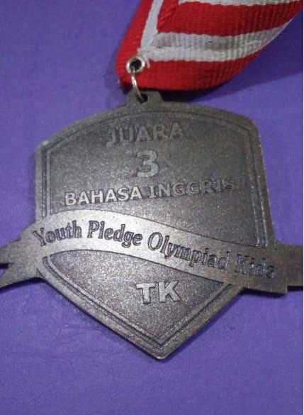 "Piagam Juara 3 ""Youth Pledge Olympia Kids."""